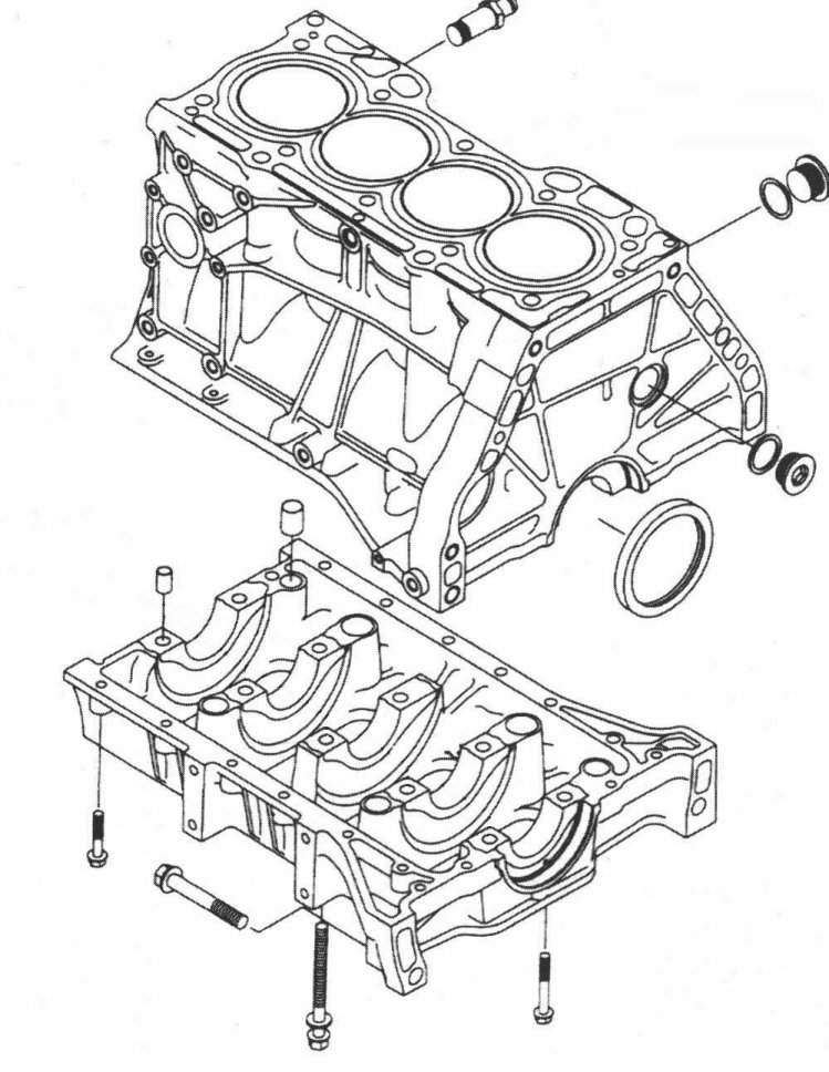 Honda Engine Block Diagram